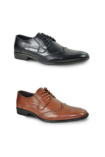 KING-2 Wingtip Oxford Dress Shoe