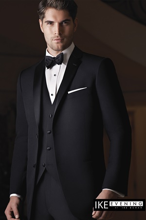 Picture of Black Parker by Ike Behar for Black Tie
